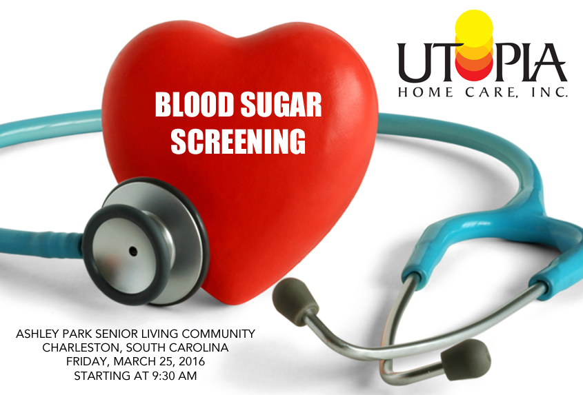 Free Blood Sugar Screening At Ashley Park Senior Living